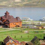 Остров-град Свияжск. Речной вокзал