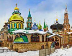 Экскурсия в Раифский монастырь, Свияжск и Храм всех религий