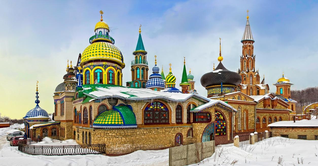 Экскурсия в Раифский монастырь, Свияжск и Храм всех религий 1