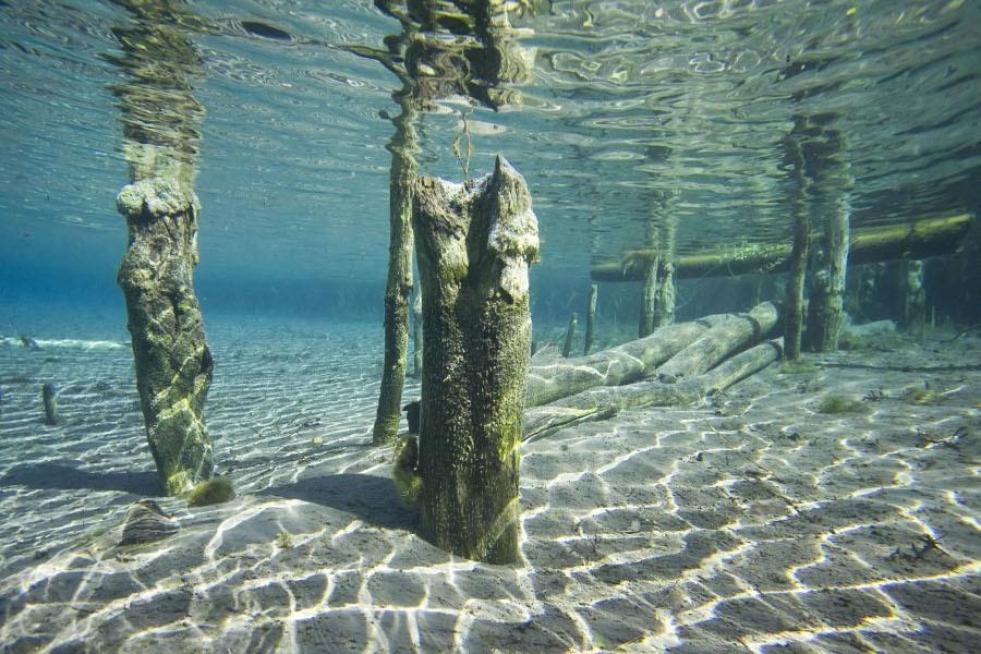 Загородная экскурсионная поездка на уникальное незамерзающее «Голубое» озеро 4
