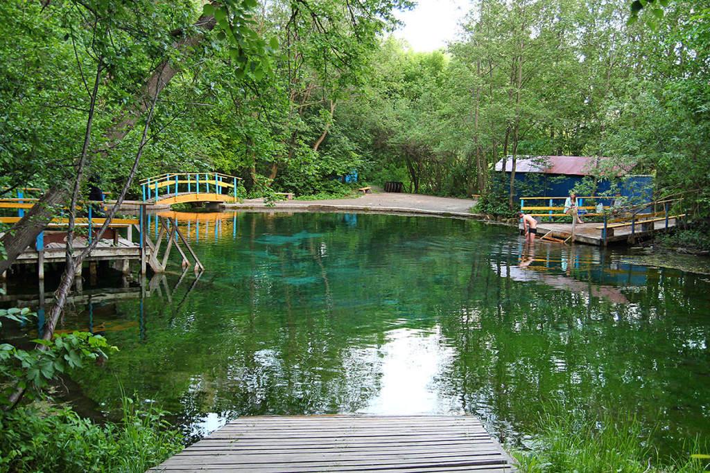Загородная экскурсионная поездка на уникальное незамерзающее «Голубое» озеро 3