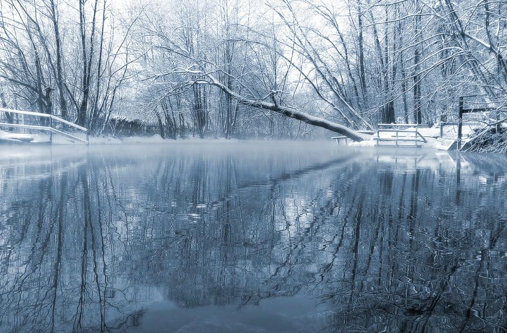 Загородная экскурсионная поездка на уникальное незамерзающее «Голубое» озеро 2