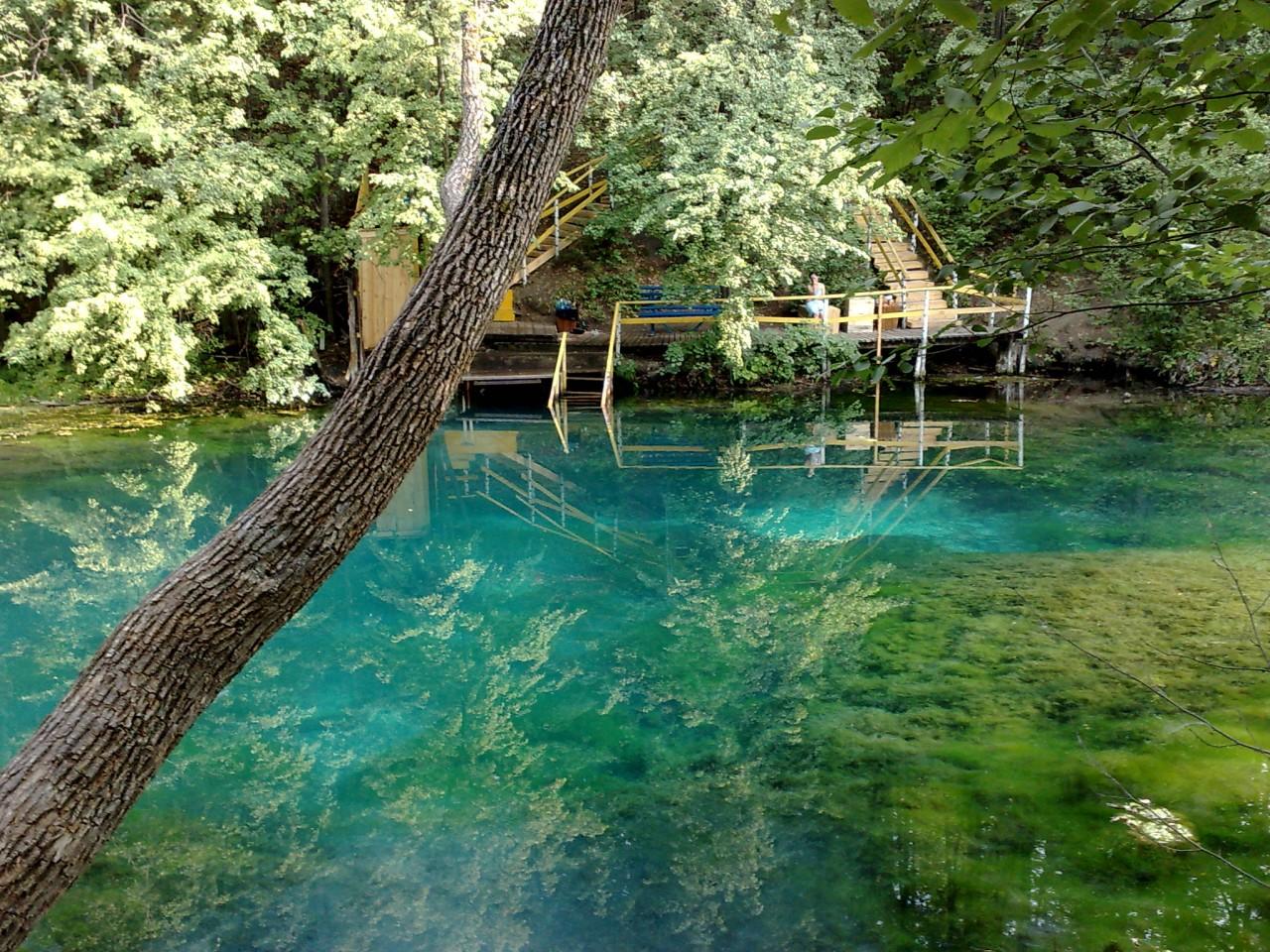 Загородная экскурсионная поездка на уникальное незамерзающее «Голубое» озеро 1