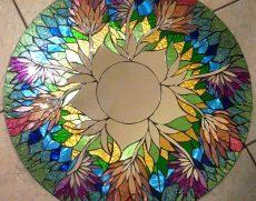 Мастер-класс «Роспись по стеклу» в мечети.