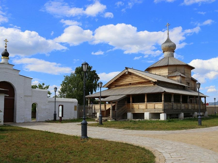 Экскурсия в Раифский монастырь, Свияжск и Храм всех религий 4