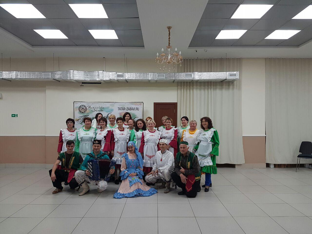 Интерактивная программа «Татар биюляре» (татарские танцы) 3