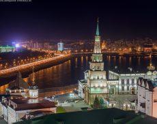 Автобусная обзорная экскурсия по городу «Вечерняя Казань»
